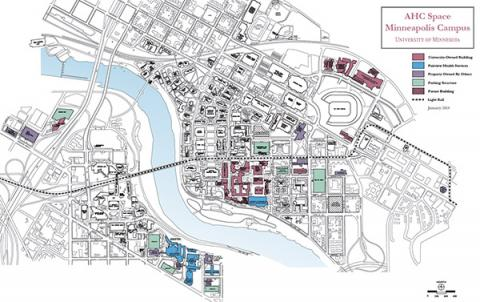Minneapolis map of AHC spaces