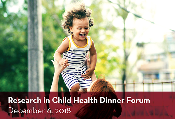 Research in Child Health Dinner Forum Image